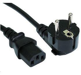 Ostatní Napájecí kabel pro počítače, 3-pin, 230V, 10A, 1,8m KAD201
