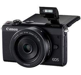 Canon EOS M100 Black + EF-M 15-45mm f/3.5-6.3 IS STM + EF-M 22mm f/2 STM + čistíčí hadřík