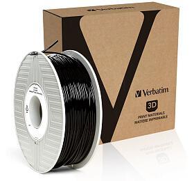 Verbatim PRIMALLOY struna 2,85 mm pro 3D tiskárnu, 0,5kg, černá