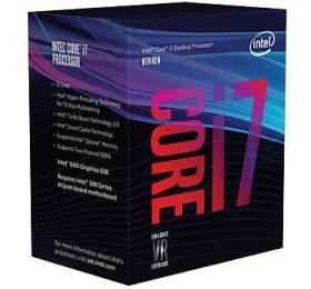 INTEL Core i7-8700 / Coffee Lake / LGA1151 / max. 4,6 GHz / 6C/12T / 12MB / 65W TDP / BOX