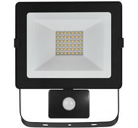 LED reflektor HOBBY SLIM spobyb. čidlem, 30W neutrální bílá