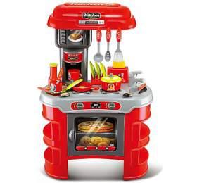 G21 Dětská kuchyňka Seba červená