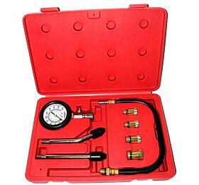 Kompresiometr pro zážehové motory, sada 8ks, tester komprese MAR-POL