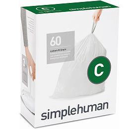 Simplehuman typ C, zatahovací, 3 x 20 ks