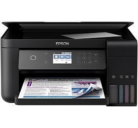Epson L6160 A4,4800x1200 dpi, 33/20 ppm, Wifi + 2500 listů papíru