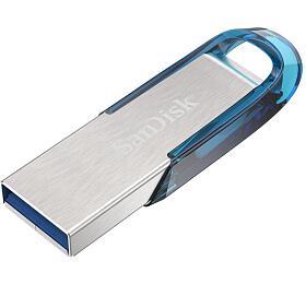 SanDisk Ultra Flair™ USB 3.0 64GB tropická modrá
