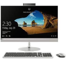 "Lenovo IdeaCentre AIO 520-27IKL 27"",i5-7400T, 4GB, 1TB, bez mechaniky, 940MX, 2GB, W10 Home - stříbrný"