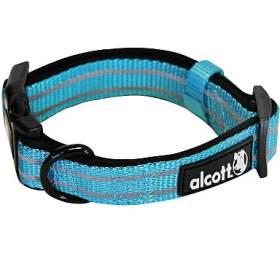 Alcott reflexní obojek pro psy, Adventure, modrý, velikost L