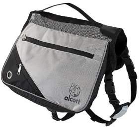 Alcott batoh pro psy, šedý, velikost L