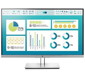 HP EliteDisplay E273 /27'' IPS 1920x1080 /250cd /1000:1 /5ms /VGA, DP, HDMI, USB /3/3/3