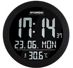 Hyundai WSN 2400, s vnitřní teplotou, negativní displej