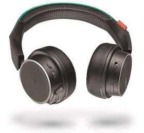 Plantronics Backbeat FIT 500 stereo headset, bluetooth v 4.1, černá/tyrkysová