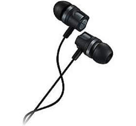 CANYON stereo sluchátka, špunty do uší, černo - tmavě šedá