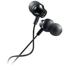 CANYON Stereo sluchátka s mikrofonem, kovová ,1,2M, tmavě šedá
