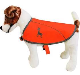 Alcott reflexní vesta pro psy, oranžová, velikost M