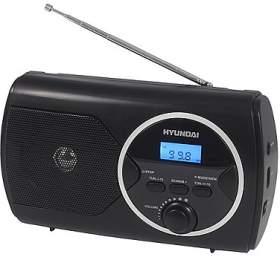 Hyundai PR 570PLLUB, FM PLL, USB, černý