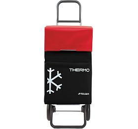 Rolser Termo Fresh MFRG nákupní taška nakolečkách, černo-červená