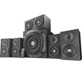 TRUST Vigor 5.1 Surround Speaker System for pc- black