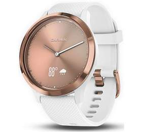 GARMIN stylové/chytré hodinky vívomove Optic Sport Rose Gold