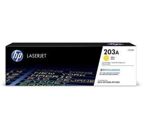 HP tisková kazeta 203A žlutá CF542A originál