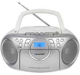 BLAUPUNKT BB16WH FM PLL CD/MP3/USB/AUX, kazety