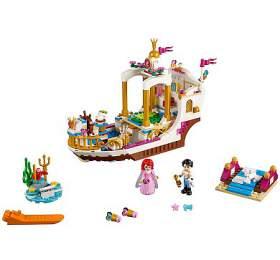 Arielin královský člun naoslavy
