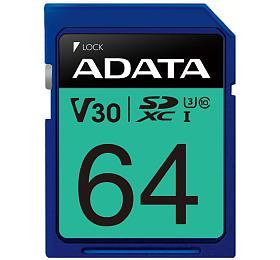 ADATA Premier Pro 64GB SDXC/ UHS-I U3V30S CL10