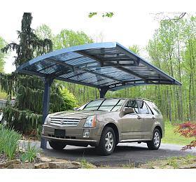 Palram Arizona 5000, hliníkový přístřešek pro auto s obloukovou střechou