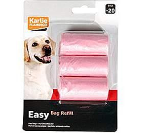 Karlie-Flamingo Sáčky na psí exkrementy růžové 3x20ks
