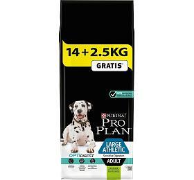 PRO PLAN Dog Adult Large Athl.Sens.Dig.Lamb 14+2,5 kgzdarma