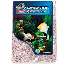 Písek akvarijní růžový mix odstínů 900 g,6-8 mm