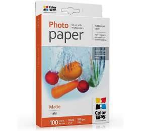COLORWAY fotopapír/ matte 190g/m2, 10x15/ 100 kusů