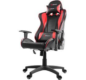 AROZZI herní židle MEZZO V2/ černočervená