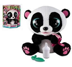 YOYO Panda interaktivní hýbající se28cm plyš nabaterie sezvukem vkrabici 40x43cm 18m+