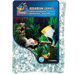 Písek akvarijní zelený mix odstínů Flamingo 900 g,6-8 mm