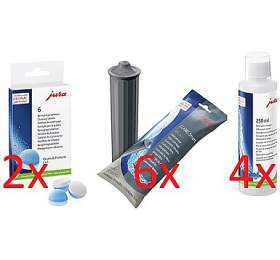 JURA CLARIS Smart filtr +JURA čistící tablety +JURA Cappuccino čistič