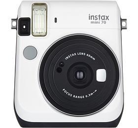 Kompaktní fotoaparát FujiFilm Instax MINI 70, bílý