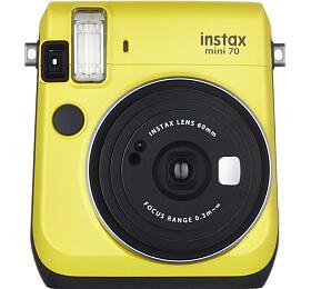 Kompaktní fotoaparát FujiFilm Instax MINI 70, žlutý