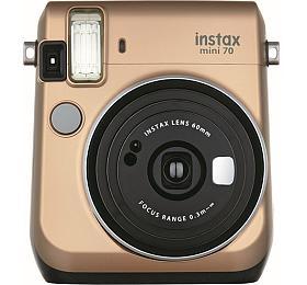 Kompaktní fotoaparát FujiFilm Instax MINI 70zlatý