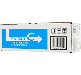 Kyocera toner TK-540C/ FS-C5100DN/ 4000 stran / Modrý