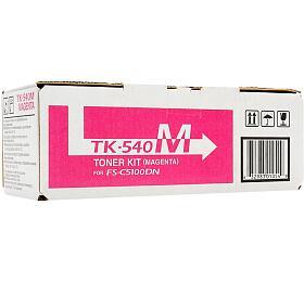 Kyocera toner TK-540M/ FS-C5100DN/ 4000 stran /Fialový