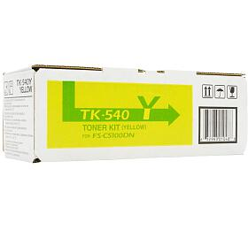 Kyocera toner TK-540Y/ FS-C5100DN/ 4000 stran /Žlutý