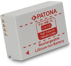 PATONA Canon NB-7L 750mAh