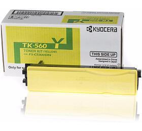 Kyocera toner TK-560Y/ FS-C5300/ 5350DN/ 10 000 stran/ Žlutý