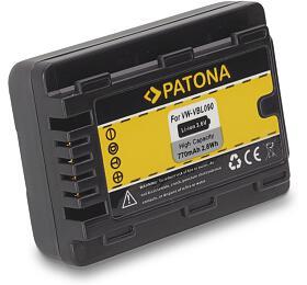 PATONA baterie pro digitální kameru Panasonic VBL-090 770mAh