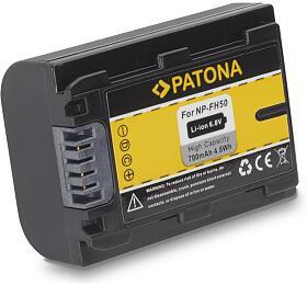 PATONA baterie pro foto Sony NP-FH50 700mAh