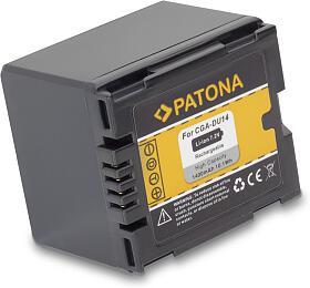 PATONA baterie pro digitální kameru Panasonic CGA-DU14 1400mAh