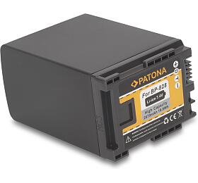PATONA baterie pro digitální kameru Canon BP-828 2670mAh Li-Ion