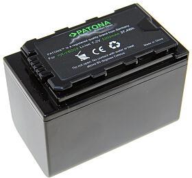 PATONA baterie pro digitální kameru Panasonic VW-VBD58 5200mAh Li-Ion
