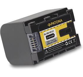 PATONA baterie pro digitální kameru JVC BN-VG121 2400mAh Li-Ion